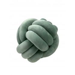 Knotenkissen Mint groß