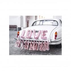 """Autodekoration Set """"Love"""" Hochzeit"""