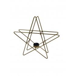 Kerzenhalter Star