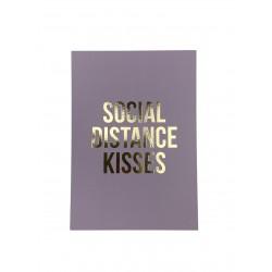Postkarte Social Distance