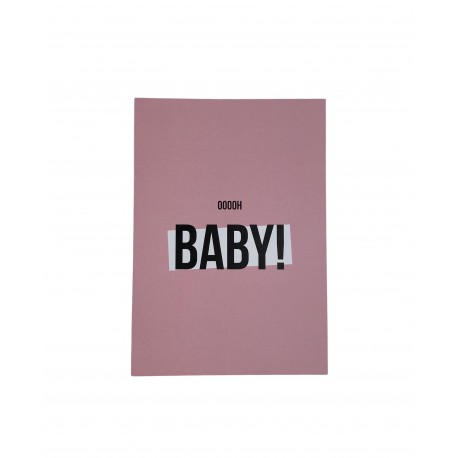 Postkarte Baby Girl