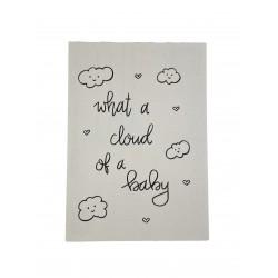 Postkarte Cloud