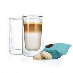 2 Latte Machiatto Gläser