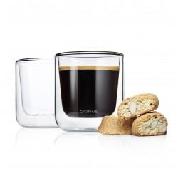 2 Kaffee Gläser