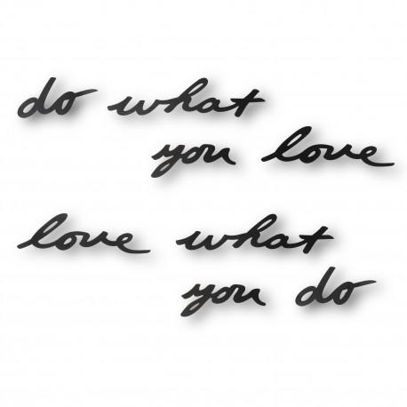 Wandschriftzug Love