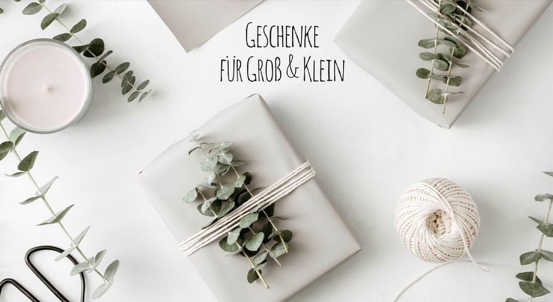 Geschenke für Groß & Klein